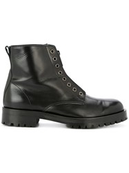 Hysteric Glamour Zipped Lace Less Boots Black