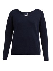 Max Mara Leisure Larix Sweater Dark Navy