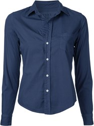 Frank And Eileen Fitted Shirt Blue