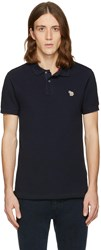 Paul Smith Ps By Navy Zebra Polo