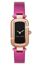 Marc Jacobs Women's The Metallic Leather Strap Watch 31Mm