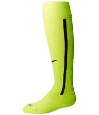 Nike Vapor Iii Over The Calf Team Socks Volt Black Black Knee High Socks Shoes Green