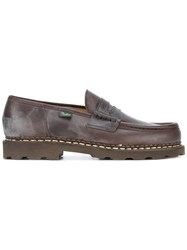 Paraboot 'Lis' Loafers Brown