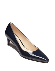 Delman Sia Patent Leather Dress Pumps