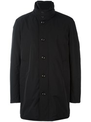 Moncler 'Fusain' Short Coat Black