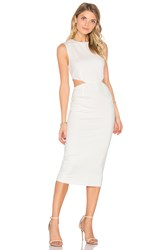 Finders Keepers Aspects Dress White
