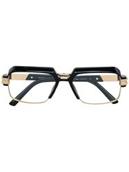 Cazal Classic Square Glasses Black