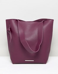 French Connection Tote Handbag Purple