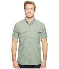 Kuhl Airspeed Short Sleeve Top Agave Green Men's Short Sleeve Button Up Gray
