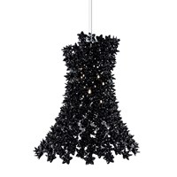 Kartell Bloom Ceiling Light Black