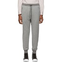 3.1 Phillip Lim Grey Dropped Rise Tapered Lounge Pants