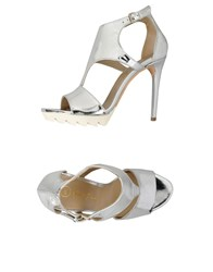 George J. Love Footwear Sandals Women Silver
