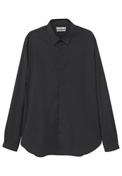 Mango Fitted Slim Fit Shirt Black