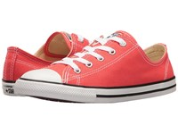 Converse Chuck Taylor All Star Dainty Seasonal Ox Ultra Red Black White Women's Shoes