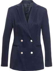 3.1 Phillip Lim Blazer With Lurex Dots Blue