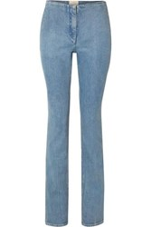 The Row Laban Mid Rise Straight Leg Jeans Blue