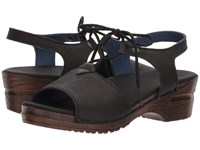 Sanita Original Olivia Black Sandals