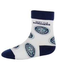 For Bare Feet Babies' Seattle Mariners Socks