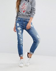 Tommy Hilfiger Tommyxgigi Skinny Jeans With Distressing Kylie Blue