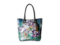 Anuschka Handbags 609 Large Shopper Tranquil Pond Handbags Multi