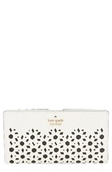 Kate Spade Women's New York Cameron Street Stacy Perforated Leather Wallet