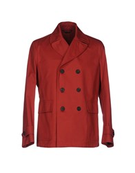 Hardy Amies Jackets Red