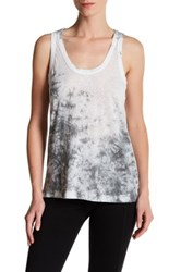 Zadig And Voltaire Deep Burn Tie Dye Tank White