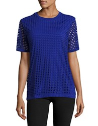 Bench Mesh Active Tee Yves Blue
