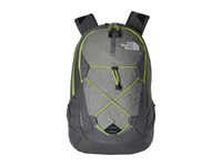 The North Face Jester London Fog Heather Chive Green Backpack Bags Black