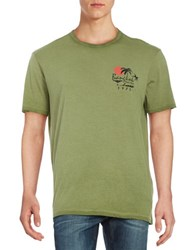 Lucky Brand Graphic Cotton Tee Green