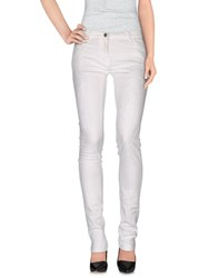 Alysi Trousers Casual Trousers Women White