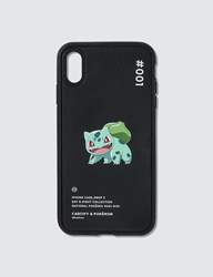 Casetify Bulbasaur 001 Pokedex Night Iphone Xs Max Case Black