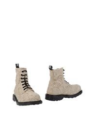 Cult Ankle Boots Beige