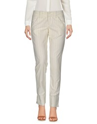 Fornarina Casual Pants Beige