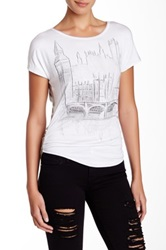 Vanilla Sugar London Scene Short Sleeve Tee Petite White