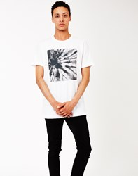The Idle Man Tie Dye T Shirt White