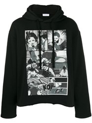 Ih Nom Uh Nit Comic Strip Hoodie Black
