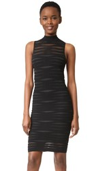 Parker Gemma Knit Dress Black