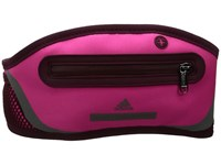 Adidas By Stella Mccartney Run Belt Shock Pink Cherry Wood Gunmetal Bags