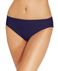 Island Escape La Palma Hipster Bikini Bottoms Created For Macy's Swimsuit Navy