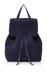 Mansur Gavriel Drawstring Backpack Navy