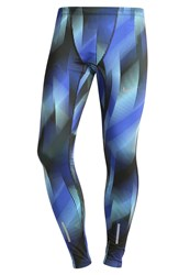 Nike Performance Tech Tights Paramount Blue Reflective Silver