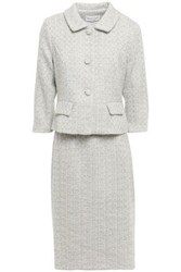 Mikael Aghal Woman Tweed Suit Sky Blue