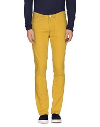 Acne Studios Denim Denim Trousers Men Yellow