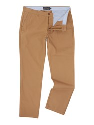 Howick Fraternity Casual Chino Medium Brown