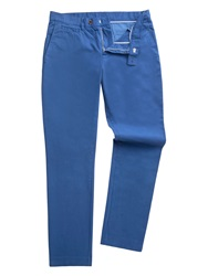 Gibson Slim Fit Casual Chino Blue