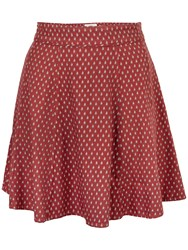Fat Face Audrey Gypset Foulard Skirt Flame