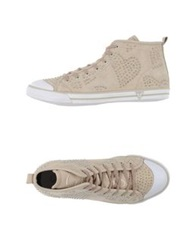 Guess High Tops And Trainers Beige