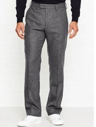 Whistles Flannel Slim Fit Trousers Grey