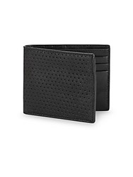 John Varvatos Black Slimfold Wallet